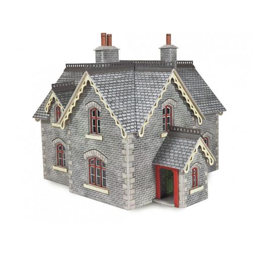 PO335 Metcalfe 00 Gauge Settle Carlisle Railway Station Master's House
