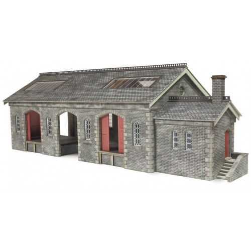 PO336 Metcalfe 00 Gauge Settle Carlisle Railway Goods Shed
