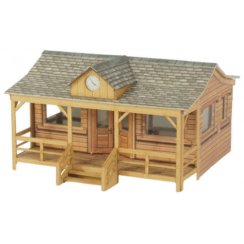 PO410 Metcalfe 00 Gauge Wooden Pavillion