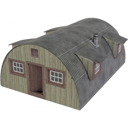 PO415 Metcalfe 00 Gauge Nissen Hut