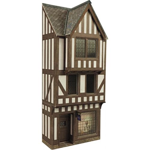 PO421 Metcalfe 00 Gauge Timber Framed Shop - Low Relief