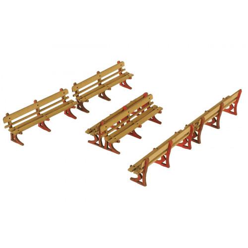 PO502 Metcalfe 00 Gauge Platform Benches