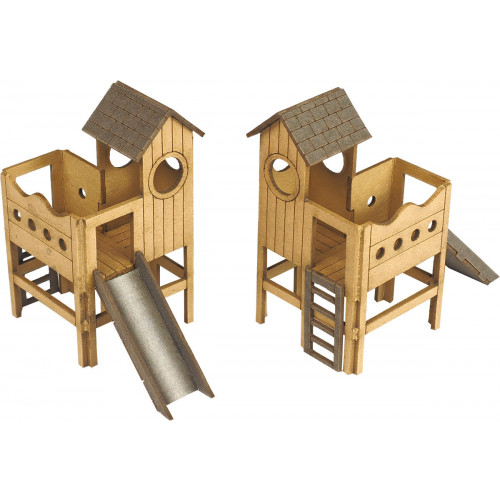 PO513 Metcalfe 00 Gauge Childrens Play Area