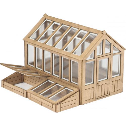 PO514 Metcalfe 00 Gauge Greenhouse