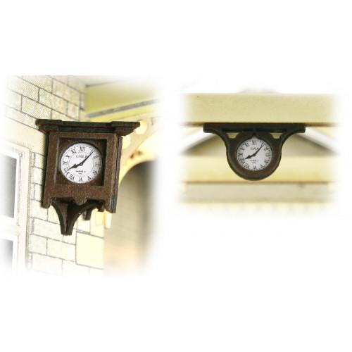 PO515 Metcalfe 00 Gauge Station Clocks