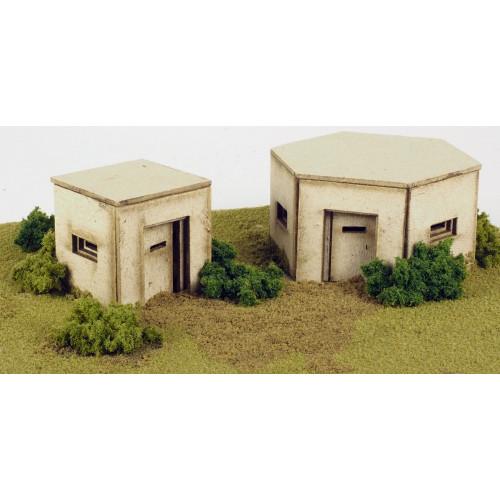 PO520 Metcalfe 00 Gauge Pillboxes