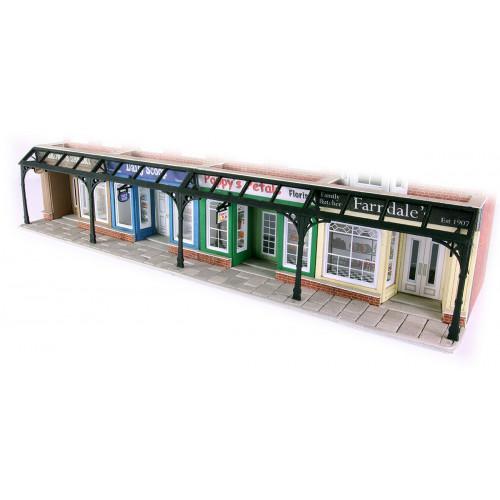 PO572 Metcalfe 00 Gauge Arcade Fronts