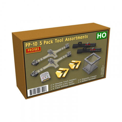 PP-10 5-Pack Tool Assortment