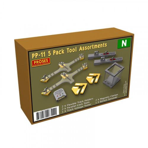 PP-11 5-Pack Tool Assortment