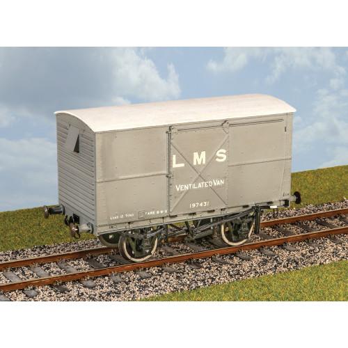 PS10 LMS Ventilated Van Steel Body