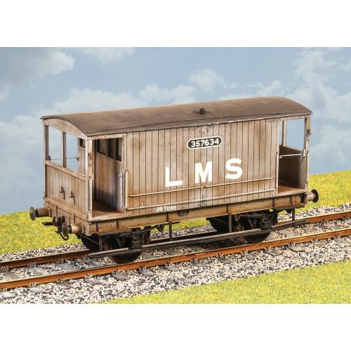 PS111 LMS Ex MR Design 20 Ton Goods Brake van