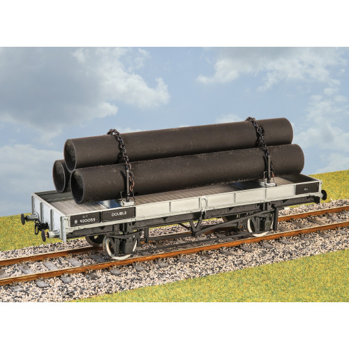 PS20 LNER / LMS / BR 21 Ton Double Bolster Wagon
