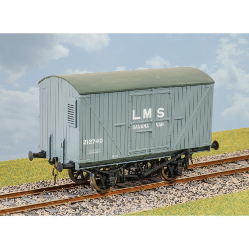 PS48 GWR Tevan Goods Van