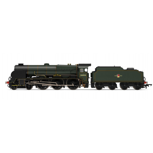 R3603TTS Lord Nelson Class 4-6-0 No.30850 Lord Nelson in BR Lined Green Livery