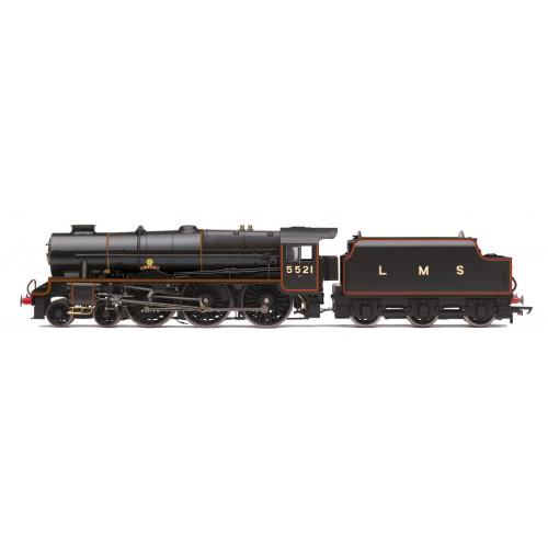 R3614 Patriot Class 4-6-0 Locomotive No.5521 Rhyl in LMS Lined Black