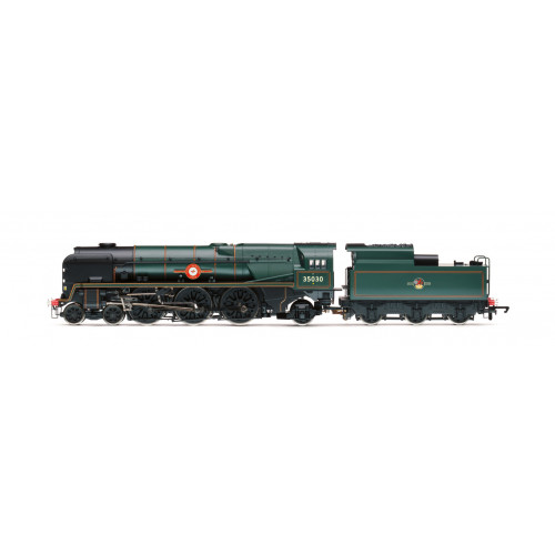 R3617 Rebuilt Merchant Navy Class 4-6-2 Locomotive No.35030 Elder Dempster Lines in BR Lined Green with Late Crest