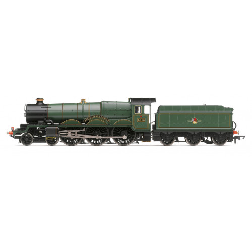 R3619 Castle Class 4-6-0 No.5013 Abergavenny Castle in BR Lined Green with Late Crest