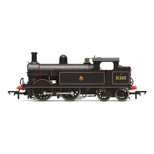 R3631 Wainwright H Class 0-4-4T Tank Locomotive No.31265 in BR Lined Black with Early Emblem