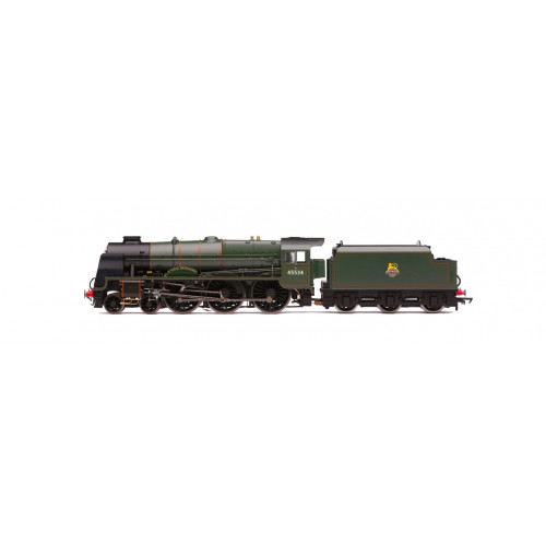 R3633 Patriot Class 4-6-0 Locomotive No.45534 - E. Tootal Broadhurst - in BR Lined Green Livery with Early Emblem