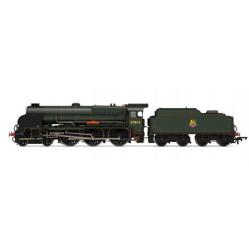 R3635 Lord Nelson Class 4-6-0 No.30863 Lord Rodney in BR Lined Green with Early Crest