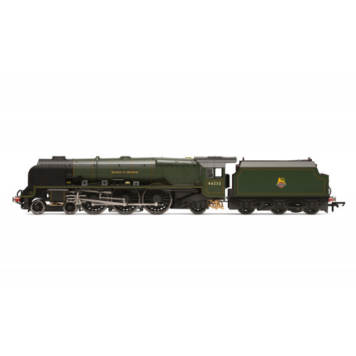 R3642 Princess Coronation Class Steam Locomotive No.46232 Duchess of Montrose in Early BR Lined Green
