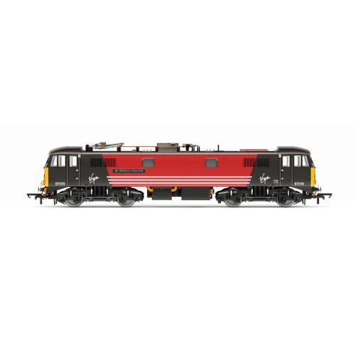 R3656 Class 87 Bo-Bo Locomotive No. 87019 Sir Winston Churchill in Virgin Trains Livery