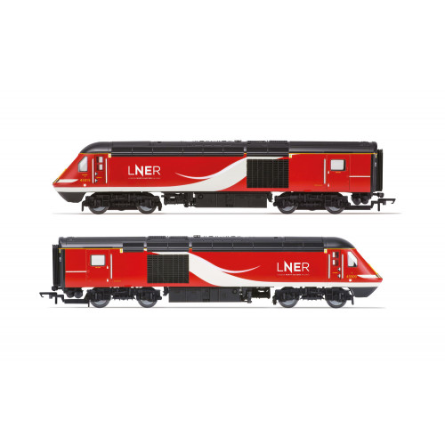 R3802 Class 43 HST - Power Cars 43315 and 43309 in LNER Red/White Livery