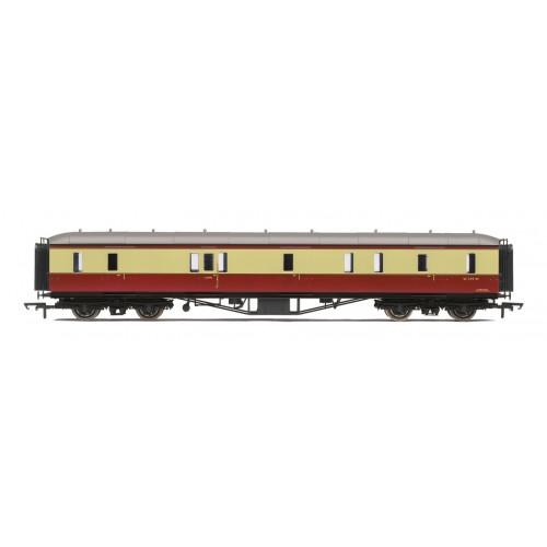 R4404B BR Hawksworth Passenger Brake Coach No.W329W in Crimson & Cream