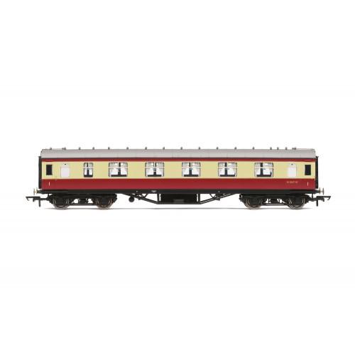 R4447B Period III Corridor First Class Coach No.M1047M in BR Crimson & Cream