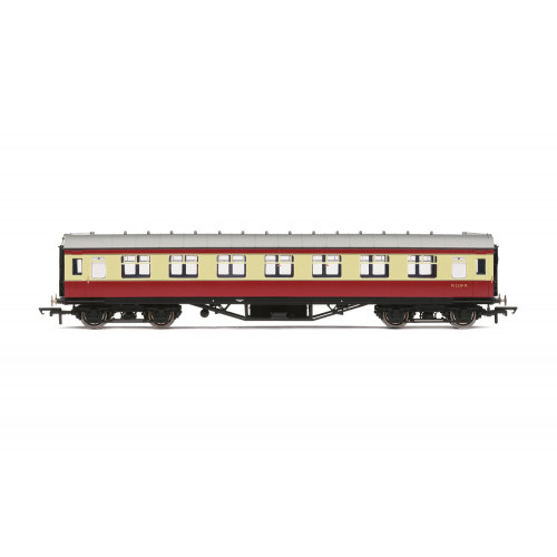 R4448B Period III Corridor First Class Coach No.M1047M in BR Crimson & Cream