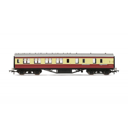 R4449B Period III Corridor Brake Third Class Coach No.M5914M in BR Crimson & Cream