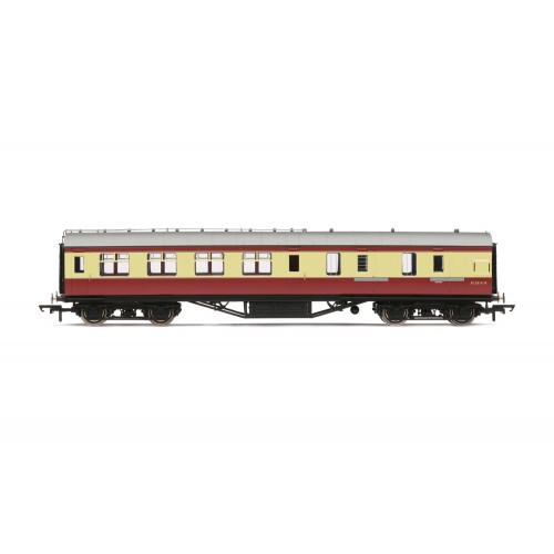 R4449B Period III Corridor Brake Third Class Coach No.M5914M in BR Crimson & Cream
