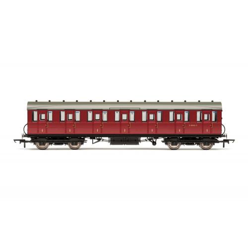 R4519B BR 51' Gresley Non-Vestibule Suburban First Class Coach No.E81032E