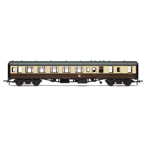 R4822 BR Mk1 Brake Second Open Coach W9264 in Chocolate & Cream
