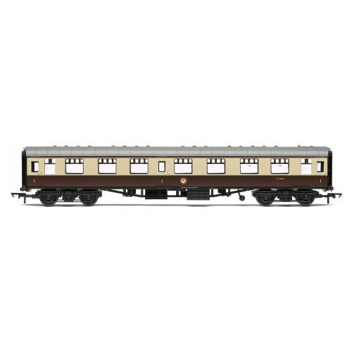 R4824 BR Mk.1 1st Class Open Coach W3090 in Chocolate & Cream