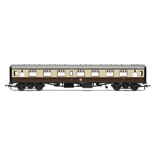 R4824 BR Mk.1 1st Class Open Coach W3090 in Chocolate & Cream