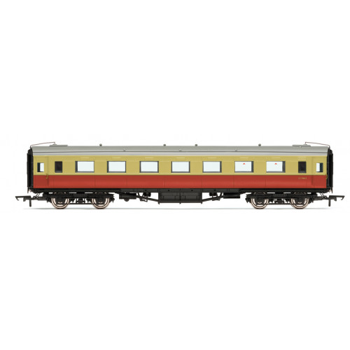 R4835 BR (ex SR) Maunsell Open Second Class Coach No.S1346S in BR Crimson & Cream