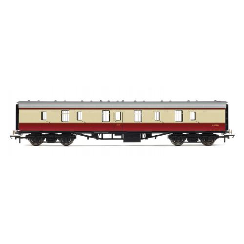 R4845 BR Mk1 Parcels Coach M80584 in Crimson & Cream