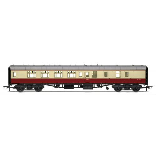 R4848 BR Mk1 Corridor Brake Second Class Coach M34466 in Crimson & Cream
