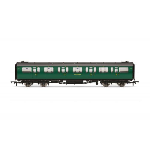 R4882 Bulleid 59' Corridor Composite Coach No.5711 in SR Green