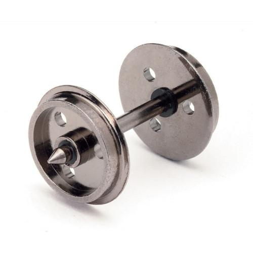 R8097 Disc Wheels(3 Hole)/Axles (10 Sets)