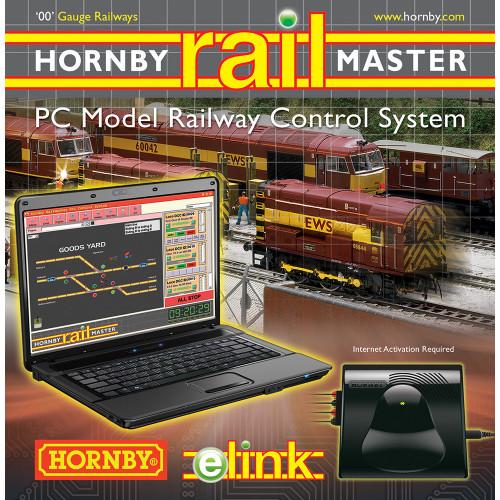 R8312 e-LINK + Railmaster + 1 amp Transformer