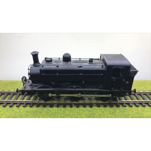 Kit Built 0-6-0T Pannier Tank Locomotive in Black
