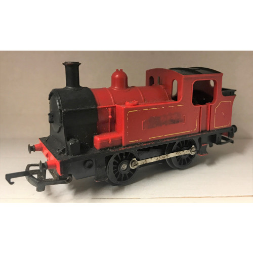 Hornby 0-4-0 Tank Engine in Red Livery