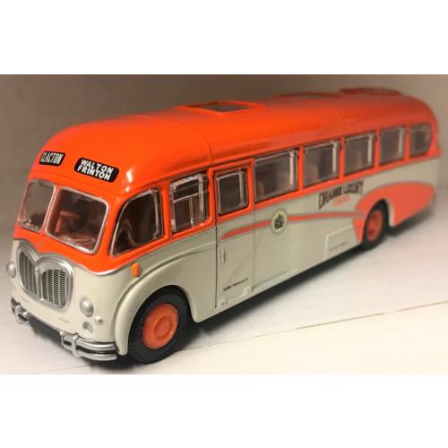 EFE 18701 Bedford SB Duple Vega Orange Luxury Coaches