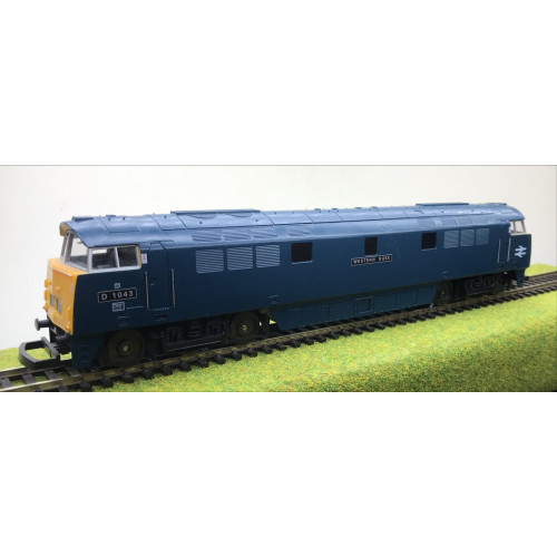 Lima L204668 Class 52 Diesel Hydraulic Locomotive No.D1043 Western Duke in BR Blue