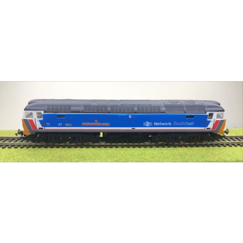 Hornby Class 47 Diesel Locomotive No.47583 County of Hertfordshire in Network South East Livery