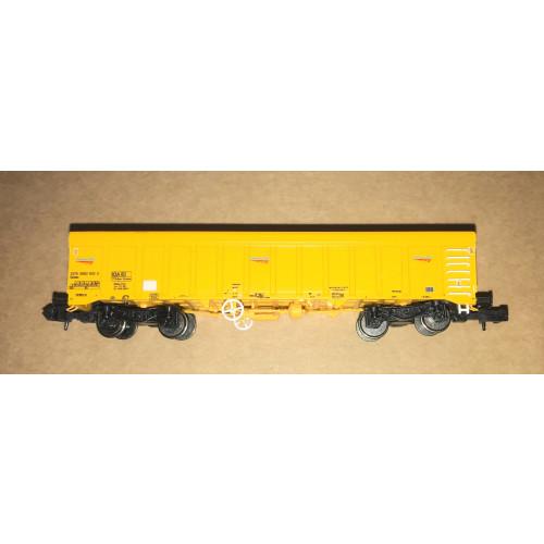 Dapol 2F-045-001 IOA Ballast Wagon in Network Rail Yellow Livery