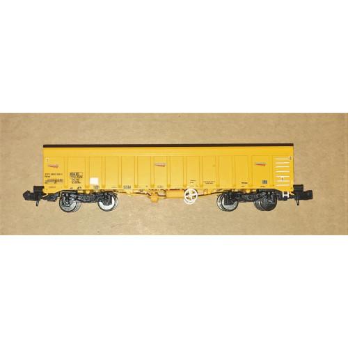 Dapol 2F-045-004 IOA Ballast Wagon in Network Rail Yellow Livery