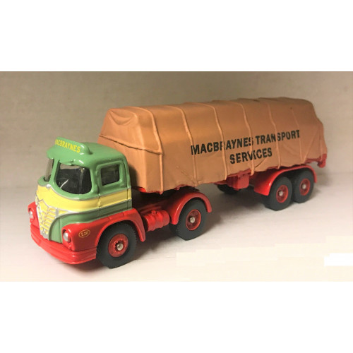 Trackside DG150003 Macbraynes Foden S21 Sheeted Trailer